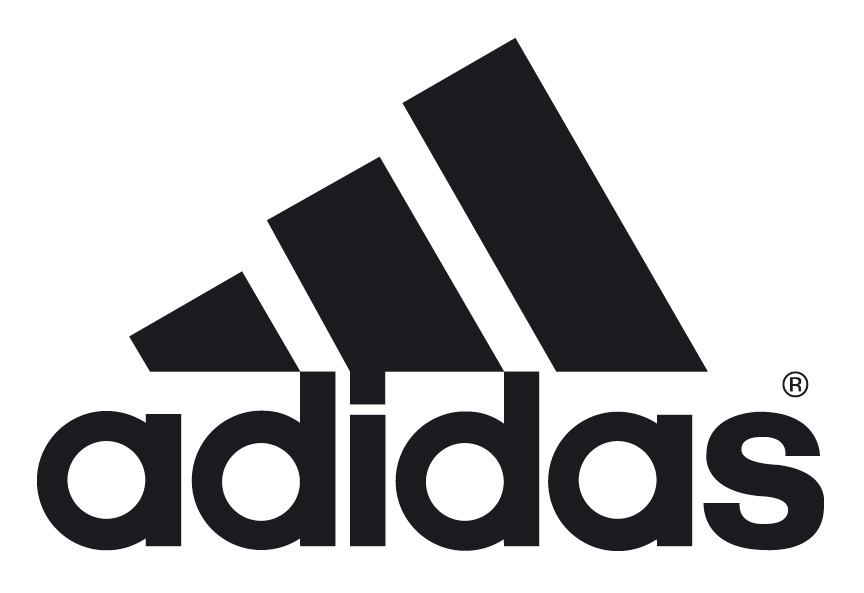 adidas clean black logo
